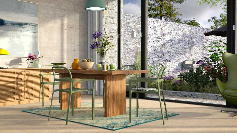 spring dining - Dining room - by bnu