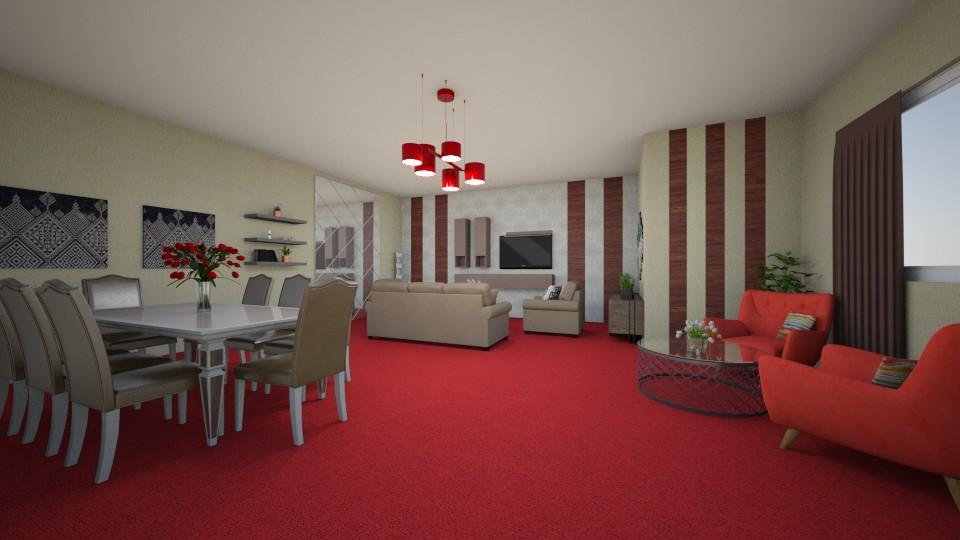 room - by louahdi abir