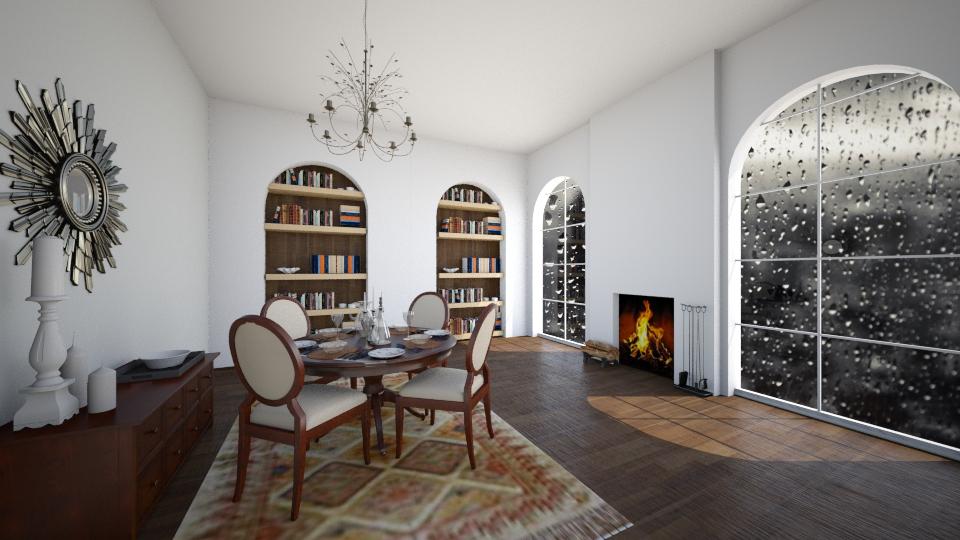 classy new york - Dining room - by seldina