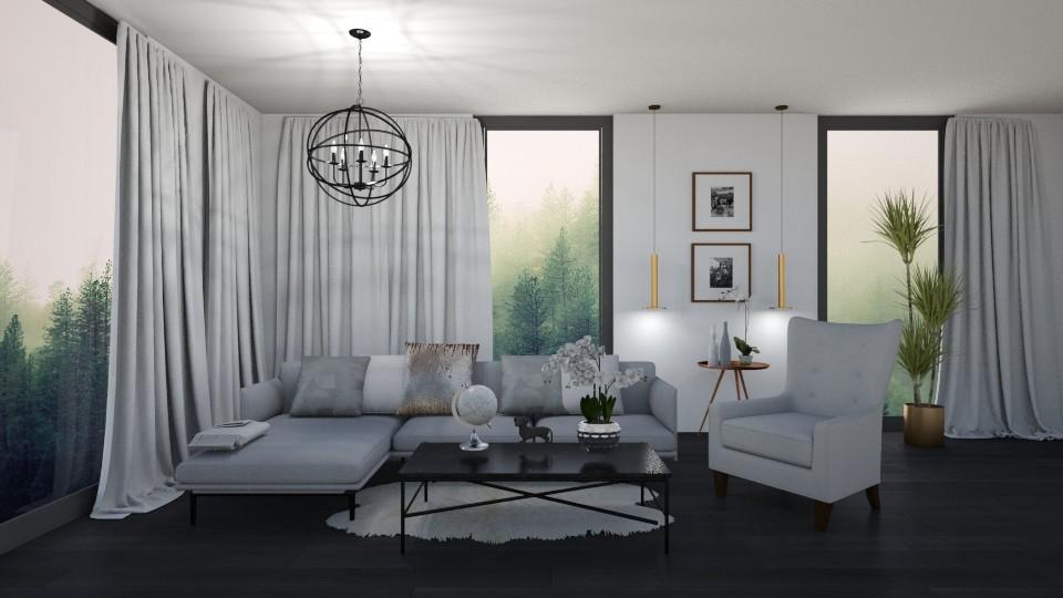 grey - Living room - by mashusirjak