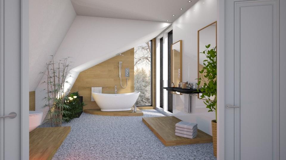 Attic bath - by barnigondi