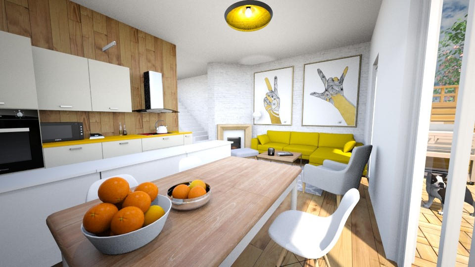 debowa - Living room - by aidual