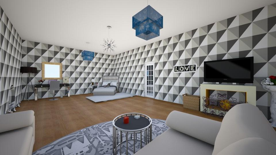 dream bedroom - Bedroom - by crunchykitty1