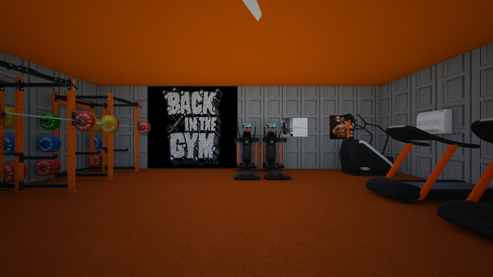 gym and games room - by khayla simpson