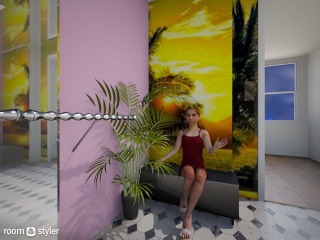 Cheerful Elevator - by JEN GRANT FRISKIELISKIE