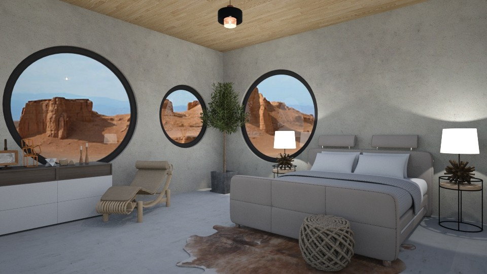 Mars dreaming - Bedroom - by rebsrebsmmg