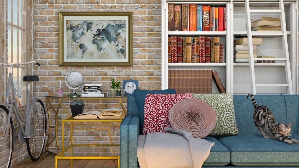 living room - by MarvelGlimmer