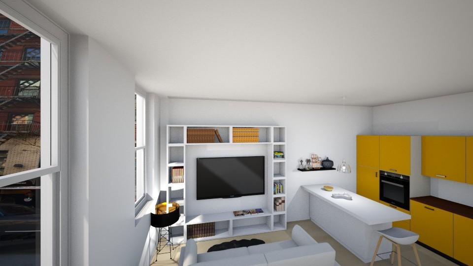 New York - Living room - by katarinalaaksonen