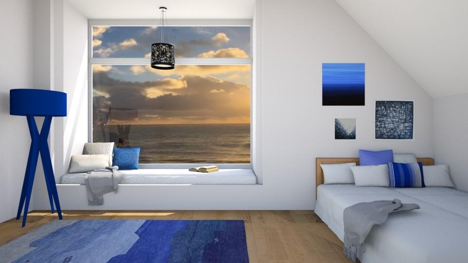 Beach Bedroom - Bedroom - by CatLover0110