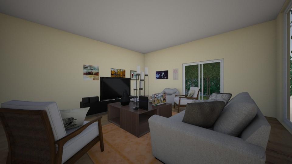 Modern living room - by kebab123