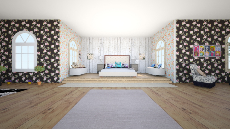 room - Bedroom - by AdriennSamu