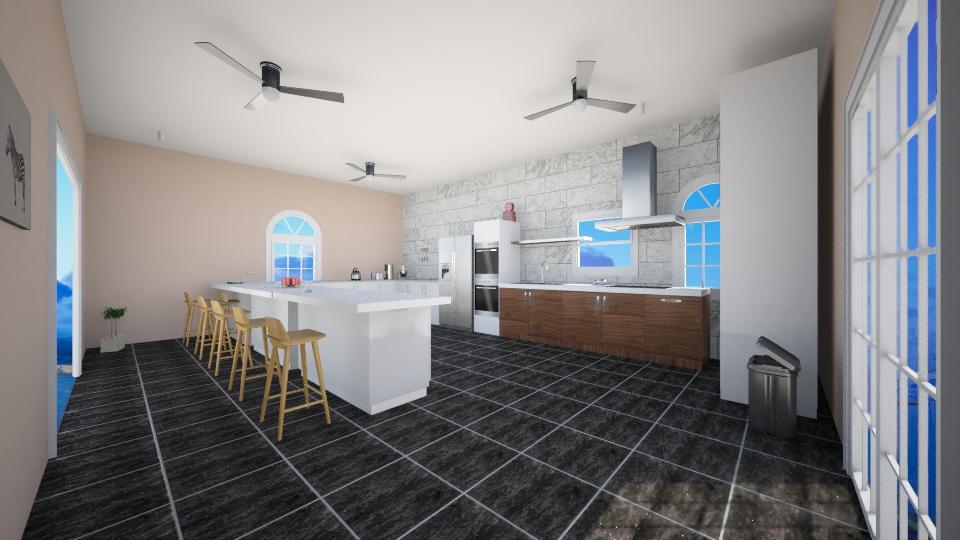 Trina's kitchen - Kitchen - by Katrina Westbrook