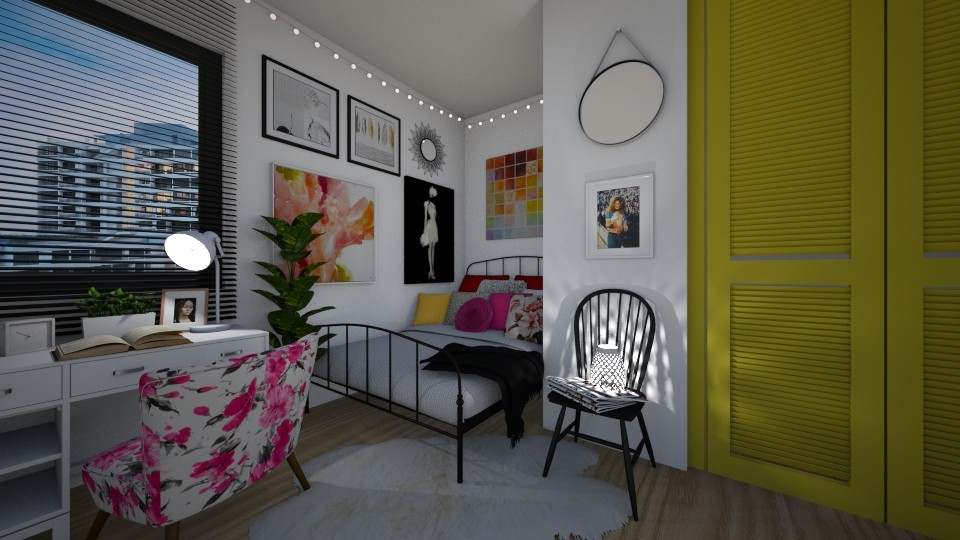student life - Feminine - Bedroom - by MiaM
