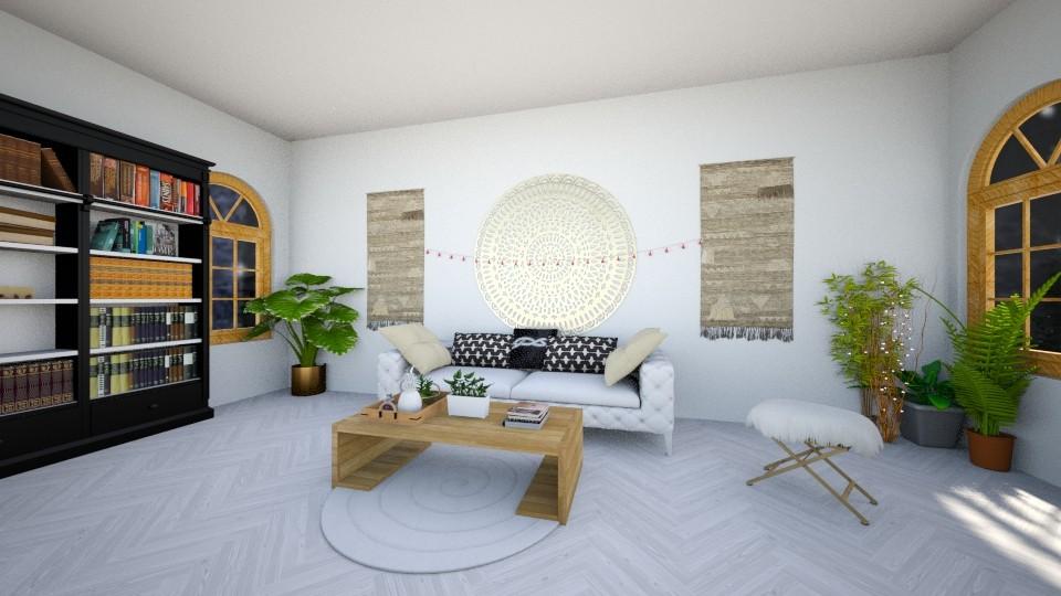 bohemian house - by annawadood