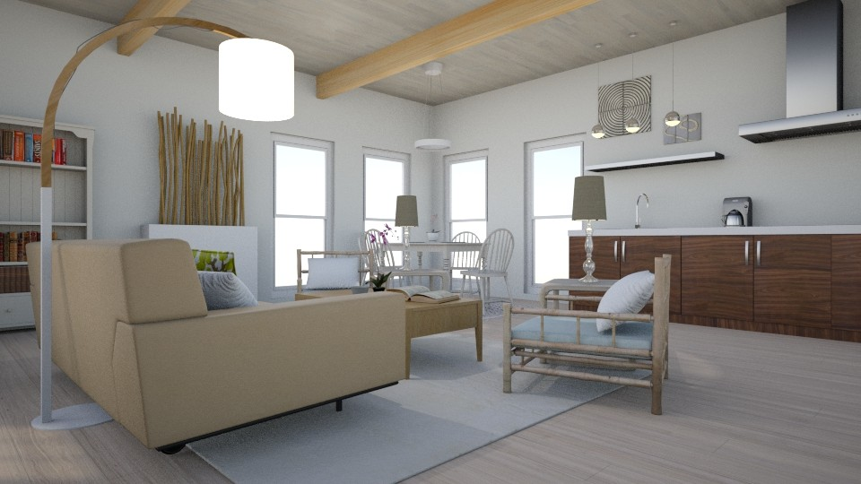 Bamboo - Living room - by Yate