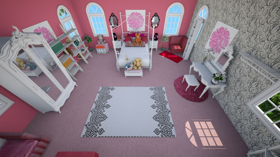 princess place - Bedroom - by cdenton041793