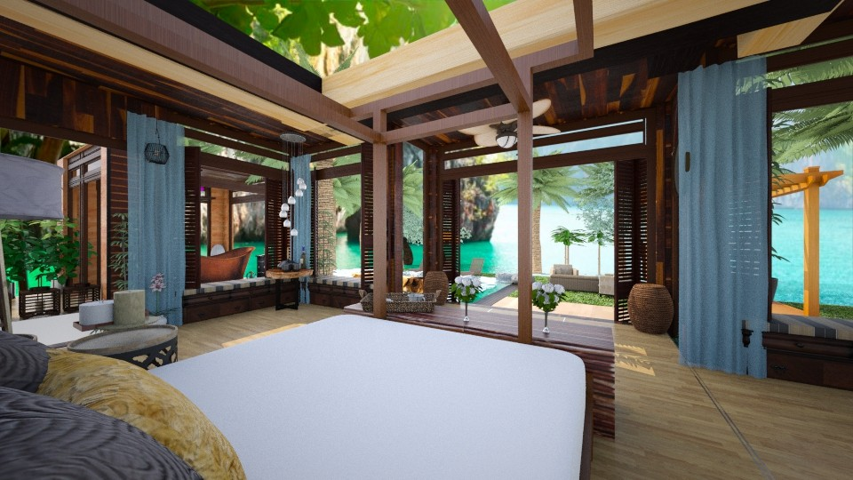 Thai Stay - Global - Bedroom - by SimonRoshana