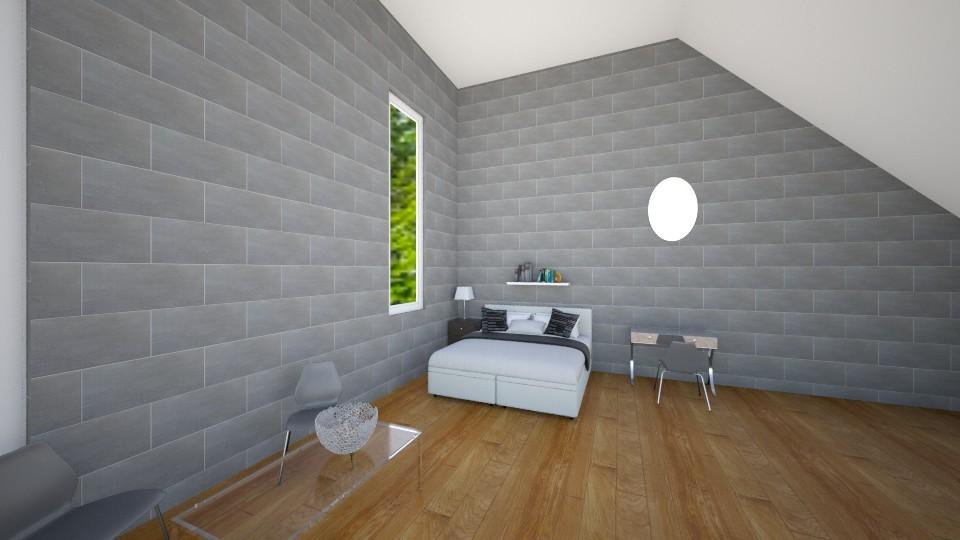 Modern Teen Bedroom - Modern - Bedroom - by VibrantSplash