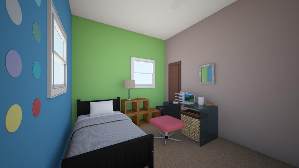 New Bedroom 3 - Modern - Bedroom - by Peter Gartner