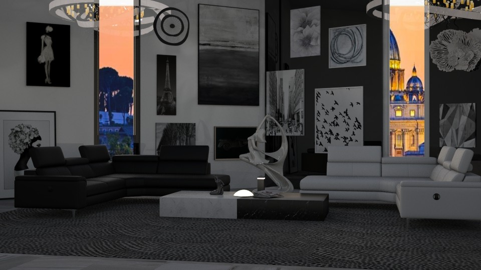 Contrast - Living room - by JoyG23