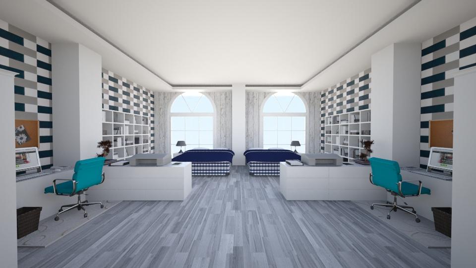 Hastens StudentDorm - Bedroom - by Gre_Taa