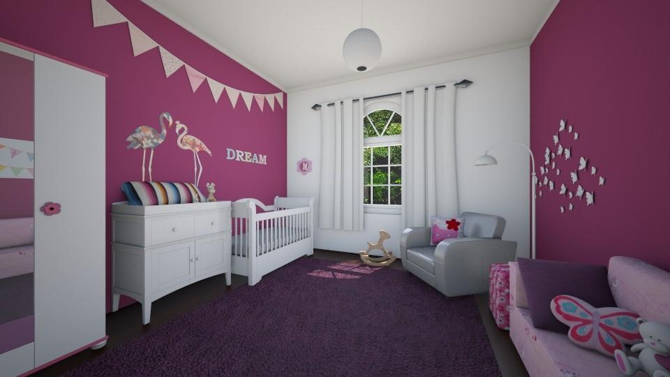 little Amelia - Kids room - by sz_evelyn19