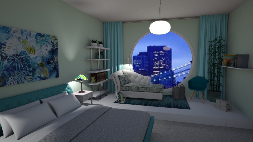 Sublet Bedroom City View - Bathroom - by Tzed Design