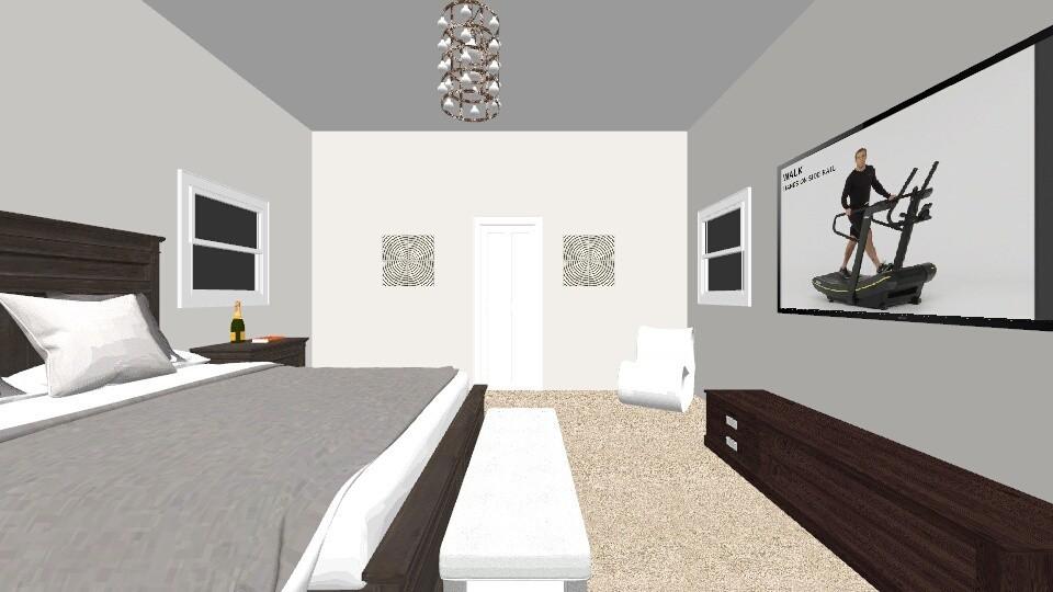 masters - Bedroom - by Ahniyaw1234