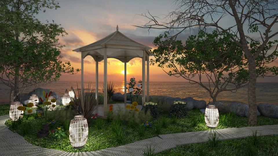 Garden By The Shore - Garden - by JoycePotato