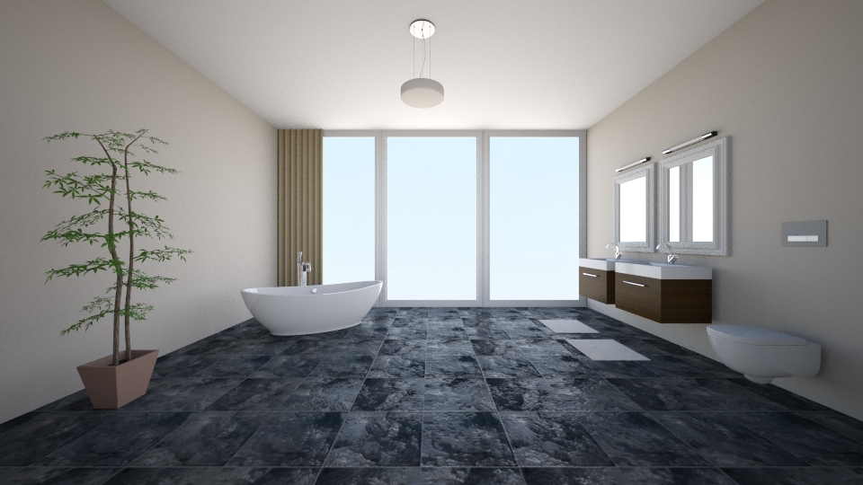 Skyling Series IV - Modern - Bathroom - by can264