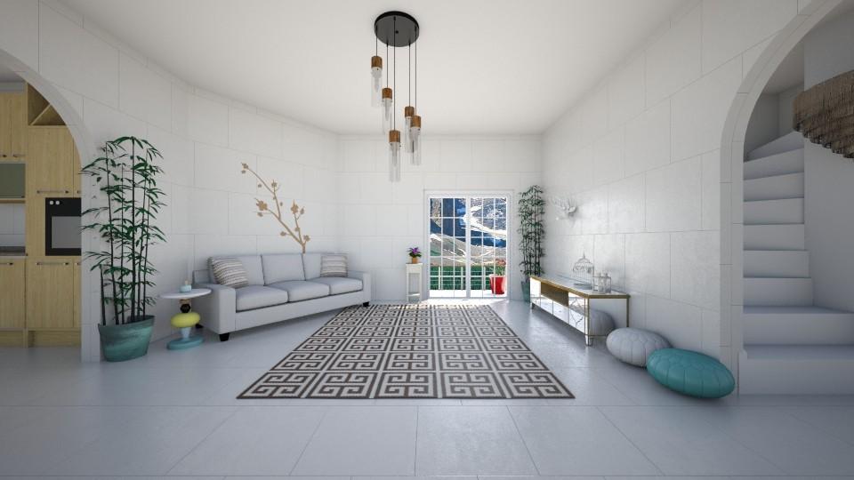 greek - Living room - by beckygoatcher