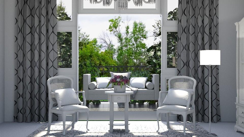 balcony - Vintage - by Dayanna Vazquez Sanchez