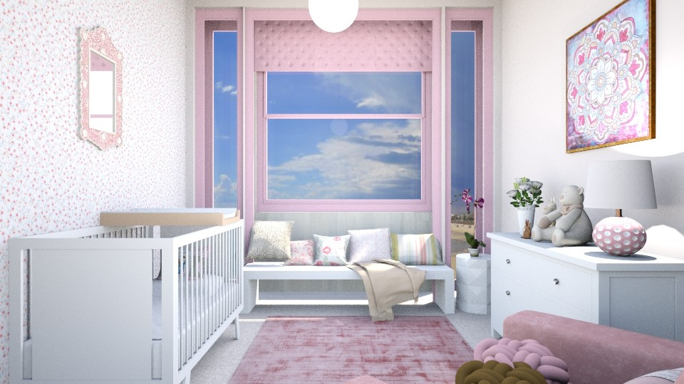 baby room - Modern - Bedroom - by zayneb_17