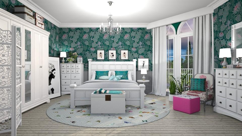 Jewel - Feminine - Bedroom - by janip