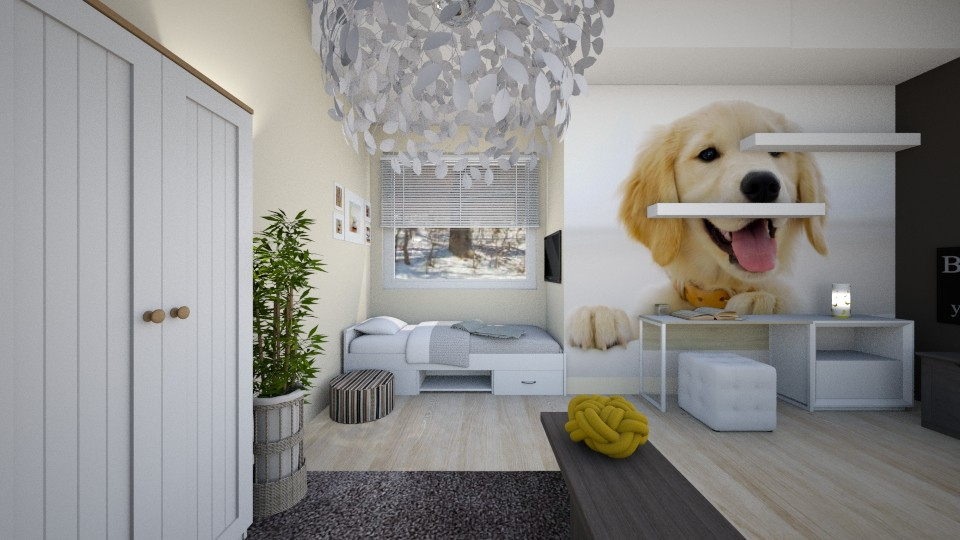 Puppy Room - Kids room - by KimAlys