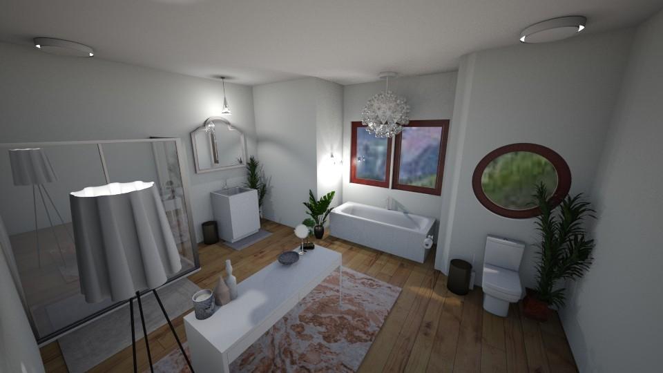 Lux Bathroom - Glamour - Bathroom - by elladesign