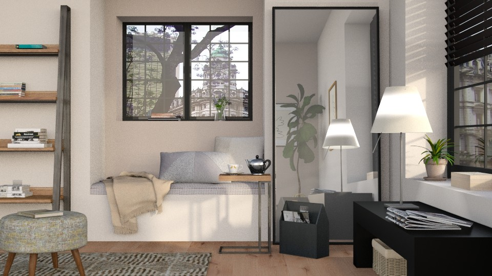Relax - Minimal - Living room - by Sally Simpson