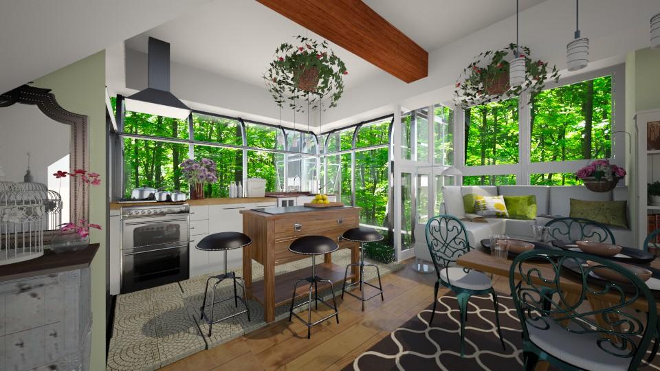 Greenhouse Kitchen - Kitchen - by smccauley029