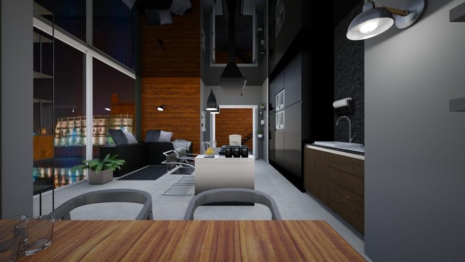 Ole - Modern - Kitchen - by agnieszka_giez