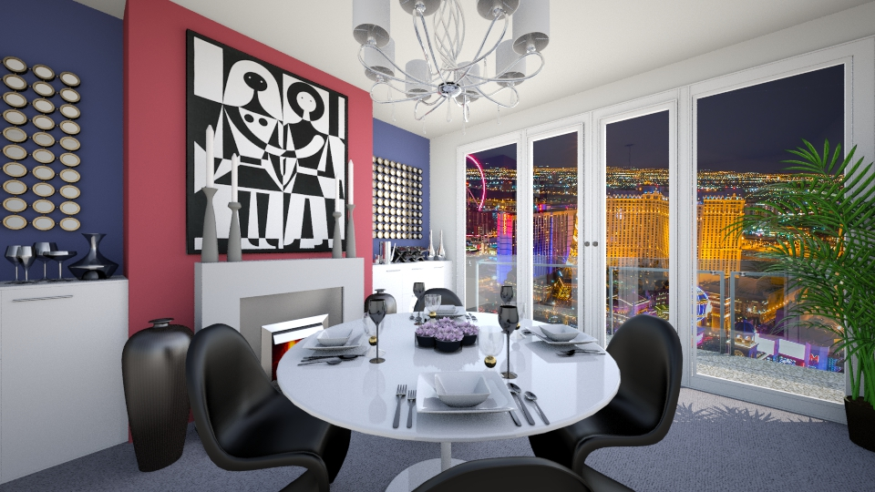 Small Dining Room  - Modern - Dining room - by LadyVegas08