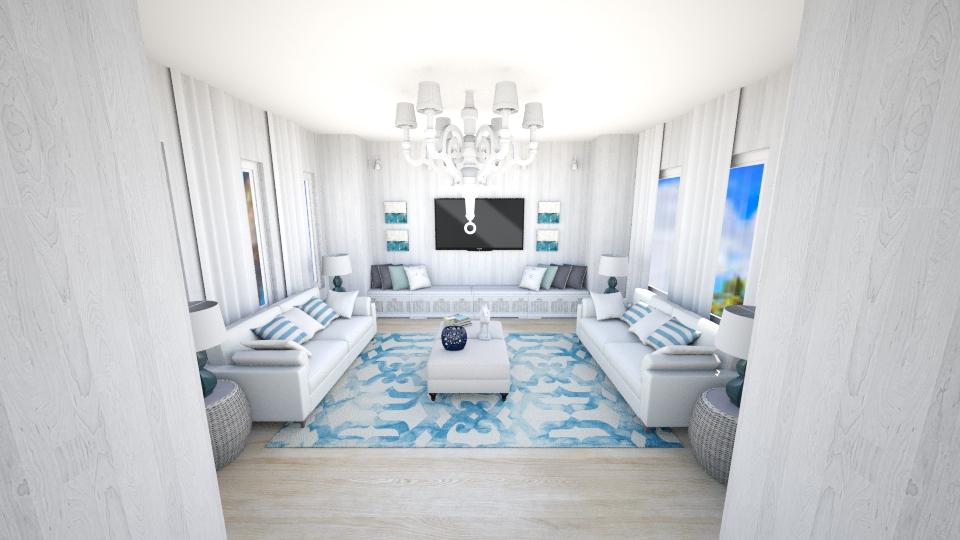 beach house - by carl duvall