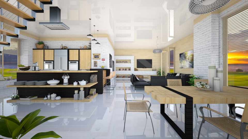 Open Kitchen - by Nufra
