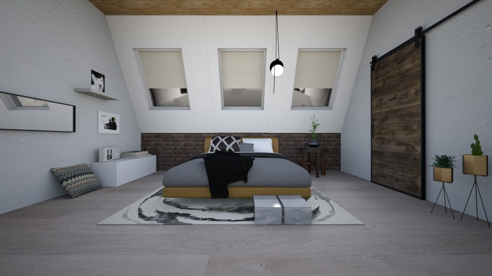sdcd - Modern - Bedroom - by mlle_m
