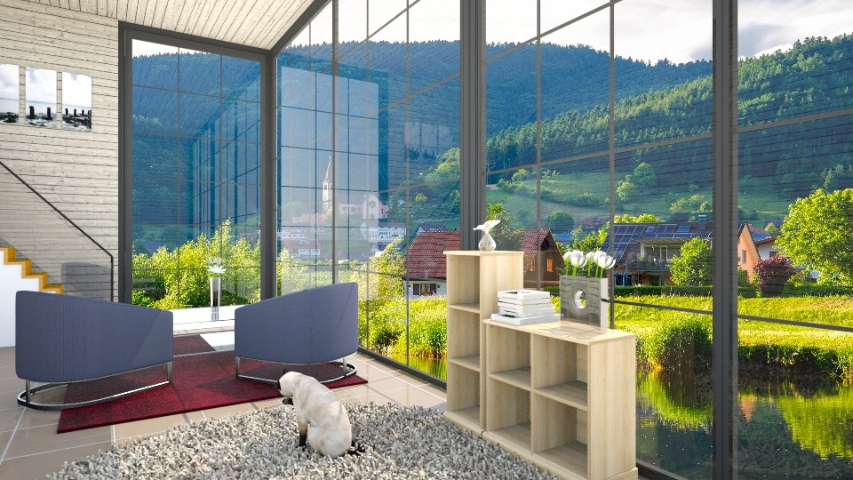 Country Modern Place - Modern - Living room - by oliinree12