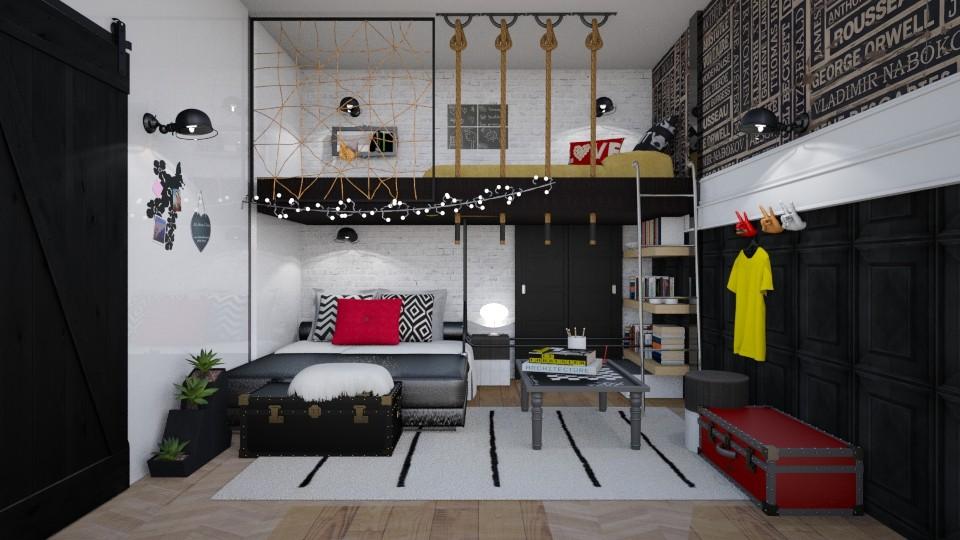 kiidsbed - Bedroom - by soralobo