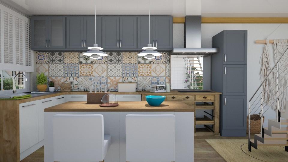 BohoKitchen - Kitchen - by KimAlys