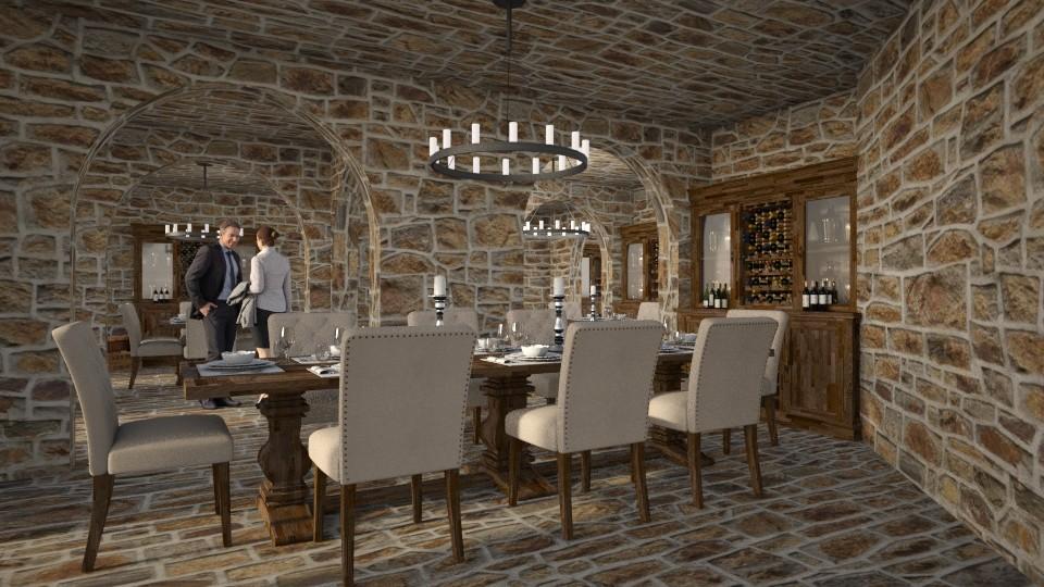 Cozy Restaurant - by Valentinapenta
