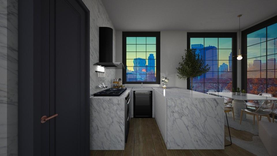 Casa259Kitchen - Modern - Kitchen - by nickynunes