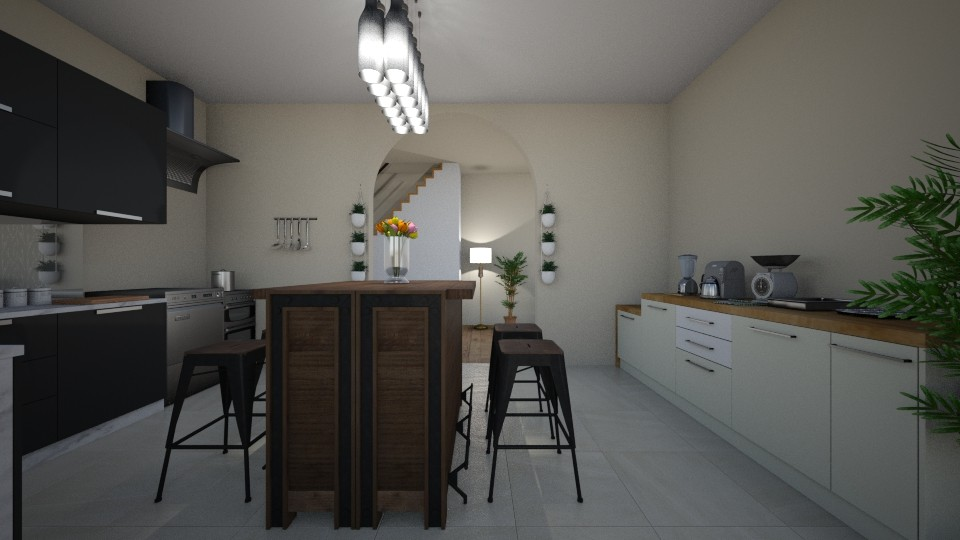 house - Modern - Kitchen - by aryhah