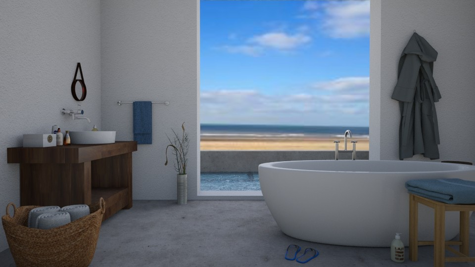 Beach house - Bathroom - by Tuitsi